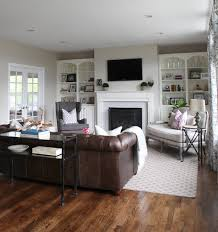 Living Room Color With Brown Furniture Carleton In Evansridge Main Floor With Cream Walls Trendy Rich
