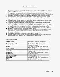 Resume For Testing Jobs Confortable Obiee Architecture Resume With Additional Sample Fresher 17