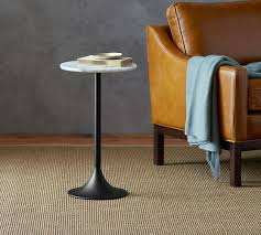 marble top end tables. Brigid Marble-Top Accent Side Table Marble Top End Tables L
