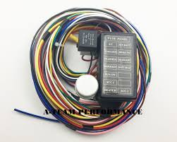 a team performance 12 circuit universal wire harness muscle car a team performance 12 circuit universal wire harness muscle car hot rod stree