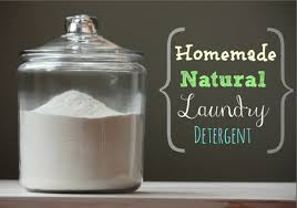 making your own laundry detergent will not only save you money but will naturally help you avoid the toxic chemicals and noxious scents found in