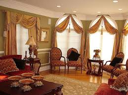 Accessories Fascinating Image Of Window Treatment Design And Red Curtain Ideas For Living Room