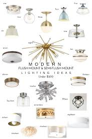 Bedroom Semi Flush Ceiling Lights 20 Modern Flush Mount Semi Flush Mount Lighting Ideas