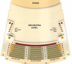 Seating Chart At The Center J Scheidegger Center For