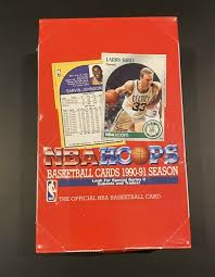 Opening a box of 1990 fleer update basketball cards. 1990 91 Nba Hoops Basketball Cards Series 2 36 Pack Box New