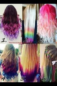 Colorful Hairstyles 24 Amazing All These Dyed Hairstyles R Cute Hair Art Pinterest Dye Hair