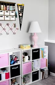home office craft room. This Thrifted Home Office Was Put Together With Many Repurposed/thrifted Pieces Made Over Craft Room