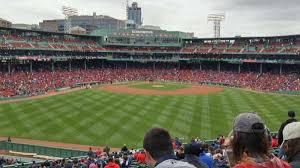 Fenway Park Bleacher Seating Chart Fenway Park Section Bleacher 37 Home Of Boston Red Sox
