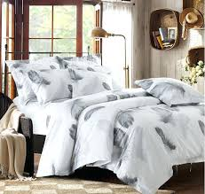 black and white bedding set feather duvet cover queen king size full twin double bed sheets king white quilted coverlet oversized white king bedding super
