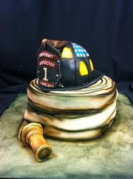 Pin By Migdalia Ortiz On Cakes Just Cakes Fireman Cake Cake Fire