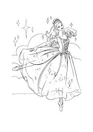 Coloring Pages Barbie Coloring Pages Free Print Princess Book Plus