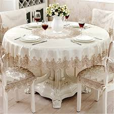 qoo10 table cloth round table runner european classical jacquard lace suit a women s clothing