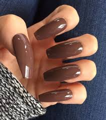 Image result for dark brown nails
