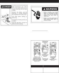 water heater turned to clipart logo more page 13 of a o smith water heater ect 52 user guide