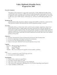 Proposal Executive Summary Executive Summary Template For Proposal ...