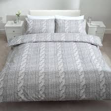 cable knit comforter queen