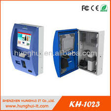 Vending Machine Bill Acceptor Awesome Multitouch Vending Machine Bill Acceptor KioskWall Mounted Tcouh