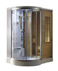 steam shower kit. Steam Sauna Combination Shower Kit 4