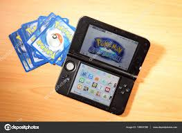 Nintendo 3ds with pokemon game – Stock Editorial Photo © eskaylim #138937398