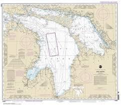 14860 Lake Huron Nautical Chart