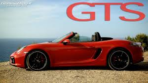 Porsche Boxster GTS | AWESOME SOUND - ACCELERATION - YouTube