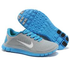 nike shoes for girls blue. nike free run 4.0 v3 barefoot shoes girls womens running 160my23 for blue