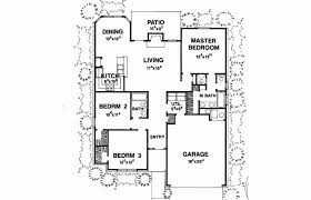 single level house plans with two master suites luxury bungalow house plans three bedroom plan modern bathroom kitchen