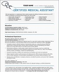 Medical Assistant Resume Template Free Best Of Medical Assistant Resume Template Free Design Office Templates Free