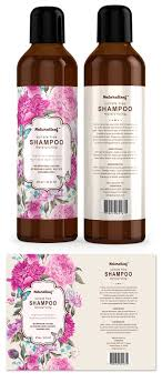 Cosmetic Label Design Template Hair Shampoo Label Template Cosmetic Labels Skincare