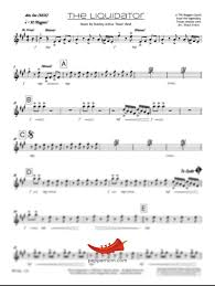 Brick House Horn Chart The Liquidator Harry J All Stars 5 Horn 3 Saxes