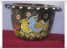 Pot Decoration Designs IDEA OF POT DECORATION Indian Art Collection 68