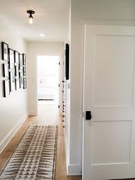 white interior door styles. Tour A Coastal California Abode With Farm House Charm. Looks Like Our Hallway, Looking At The All White Interior Combo. Door Styles