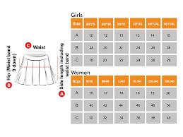 Skirt Size Chart For Toddlers Perform A Unit Of Vijaya Sports Wear Track Wear Sports