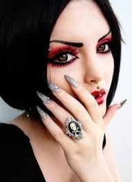 for jj goth makeup my niece is gona be a goth for and she wants me to do her makeup so i m getting some ideas