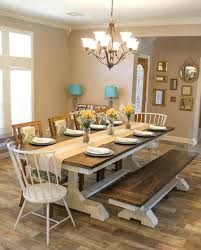 dining rooms tables dining stunning farmhouse dining room table with chairs bench pictures and houzz dining