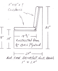 Banquette Seating Plans Window Seat Plans An Easy Build Window Seat R Witherspoon