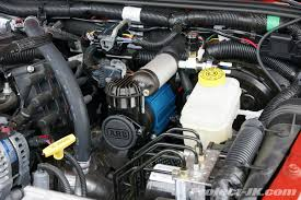on board air compressor. thread: arb high output on-board air compressor under the hood jk installation write-up on board ,
