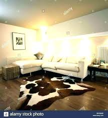 cow skin rug faux cow skin rugs faux cow skin rug large size of living