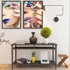 fashion nail art beauty salon canvas