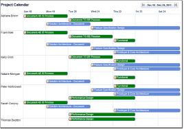 Online Project Management Calendar Features Online Calendar Management In Zilicuspm Project Management