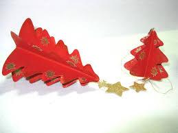 Weihnachtsbaum Mobile Dekoration Aus Tonpapier