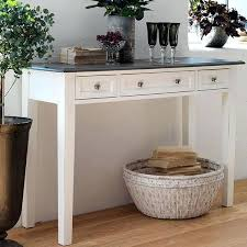 entrance table with drawers. Rustic White Console Table Distressed With Drawer In Hallway X . Entrance Drawers