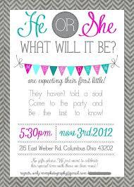 Baby Gender Reveal Invitations Cafe322 Com