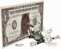 Resultado de imagen para Caricatura donde se presenta el dinero como destructor  de la familia