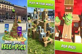 Angry Birds AR: Isle of Pigs augmented reality game finally drops on  Android- Technology News, Firstpost