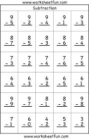Subtraction Worksheets For Grade 1 Pdf - Subtraction 2 worksheets ...Lucky leprechaun subtraction worksheet 1