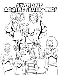 Small Picture Stop Bullying Coloring Pages 22475 Bestofcoloringcom
