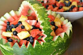 watermelon fruit salad bowl. Interesting Watermelon Spring Fruit Salad For A Party Served In Watermelon Bowl Easy To Do And  Makes Great Presentation And Watermelon Fruit Salad Bowl R