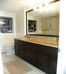 Average Cost Of Kitchen Cabinet Refacing Awesome Bathroom Cabinet Refacing Feralchildren