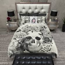 Skull Bedroom Decor Ink Rags
